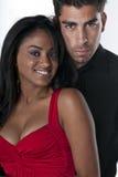 Couples hispaniques Photo libre de droits