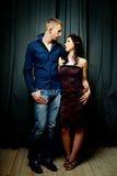 Couples - homme et femme, amour, passion Photos libres de droits