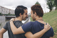 Couples homosexuels Photo libre de droits