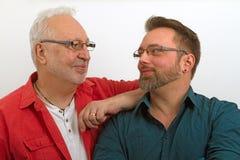 Couples homosexuels heureux Image stock