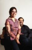 Couples indiens Photo libre de droits