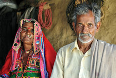 Couples indiens Image libre de droits