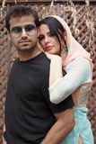Couples indiens Images stock