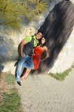 Couples indiens attrayants Photos libres de droits