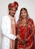 Couples indiens heureux Photo stock