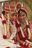 Couples indiens heureux images libres de droits