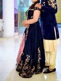Couples indiens renversants de mariage images libres de droits