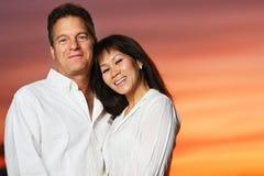 Couples interraciaux Photos stock