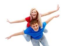 Couples joyeux Images stock