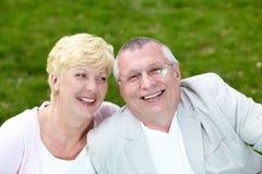 Couples joyeux Photo libre de droits