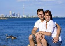 Couples la datte Photo libre de droits