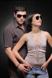 Couples à la mode Image stock
