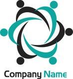 Couples logo Royalty Free Stock Photography