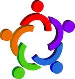 Couples logo Stock Photo