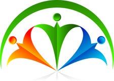 Couples logo Royalty Free Stock Image