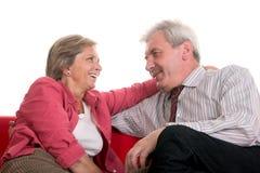 Couples mûrs Photo libre de droits
