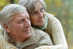Couples mûrs Images libres de droits