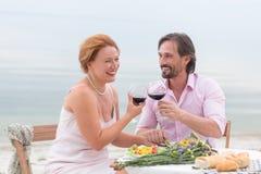 Couples mûrs Photos libres de droits
