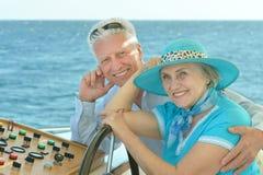 Couples mûrs dans l'amour Images libres de droits
