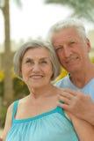Couples mûrs dans l'amour Photos stock