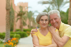Couples mûrs dans l'amour Photographie stock