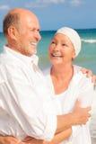 Couples mûrs de sourire Image libre de droits