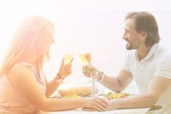 Couples mûrs extérieurs Images stock