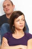 couples malheureux Images stock
