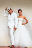 Couples of man and woman in wedding suit Stock Photo