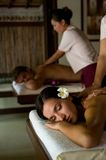 Couples Massage Royalty Free Stock Photos