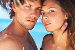 Couples mignons Images libres de droits