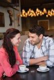 Couples mignons une date Photographie stock libre de droits