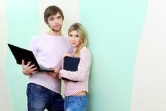 Couples modernes Images libres de droits