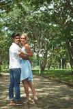 Couples multiculturels Image libre de droits
