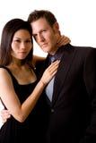 Couples multiraciaux Image libre de droits