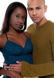 Couples multiraciaux Photos stock