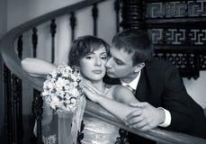couples Neuf-mariés Photographie stock libre de droits