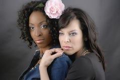 Couples noirs et blancs Photographie stock libre de droits