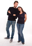 Couples occasionnels Photo stock