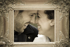 Couples occasionnels images stock