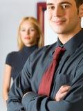 Couples ou hommes d'affaires Photographie stock