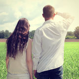 Couples outdoor Royalty Free Stock Images