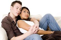 Couples paisibles Photographie stock libre de droits