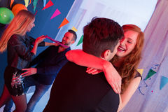 Couples on a party Royalty Free Stock Photography
