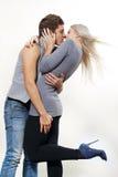 Couples passionnés Photos libres de droits