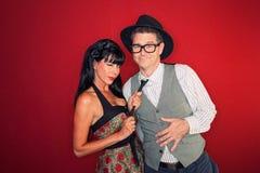 Couples passionnés Images stock