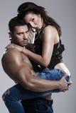 Couples passionnés Photographie stock