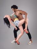 Couples passionnés Photo stock