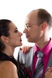 Couples passionnés dans l'amour photo libre de droits