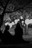 Couples pensant à la vie photos libres de droits